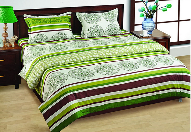 fitted bed sheets india